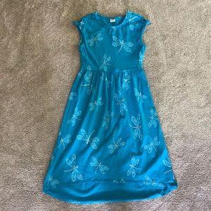 Gymboree girls high low dress. Size 10